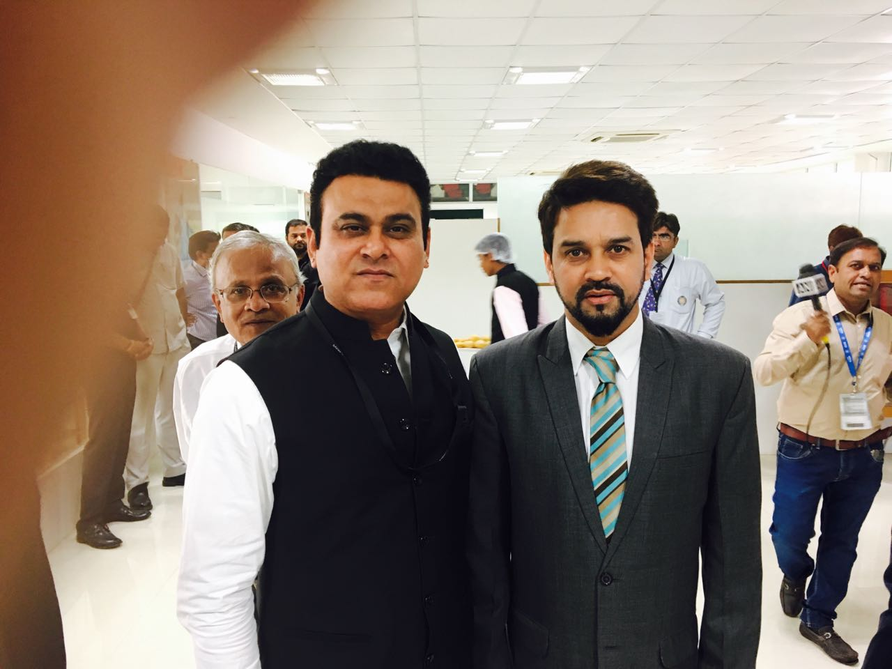 Principal with Chairman of B.C.C.I. Mr. Anurag Thakur